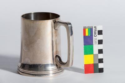 1888 Kings College Silver Beer Mug