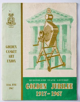 Booklet, Golden Casket Jubilee