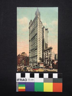 "Postcard - ""Park Row Building, N.Y. City"""