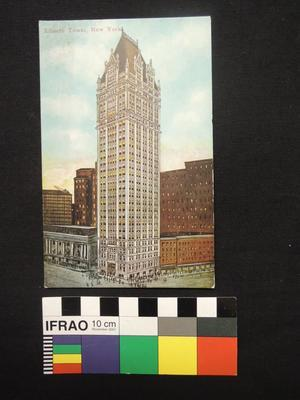"Post Card - ""Liberty Tower, New York."""