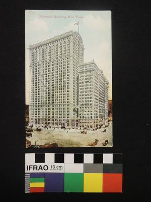 "Post Card - ""Whitehall Building, New York."""