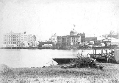 "Photo - ""The Custom House Brisbane""; 1894-1910; H49010"