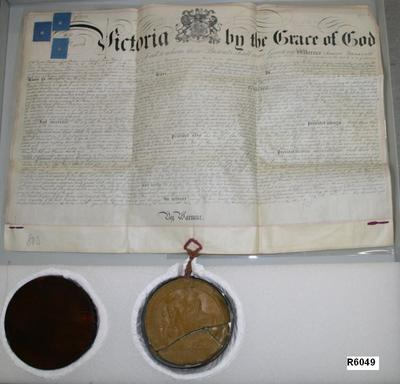 Patent Document and Seal