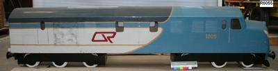 Model of 1200 Class Diesel Electric Locomotive No.1205