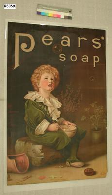 "Advertising Poster -""Pears Soap"""
