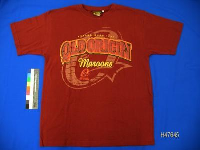T-shirt 'Qld Origin Maroons'