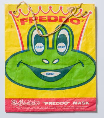 Sample bag -  MacRobertson's Freddo Mask