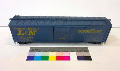 Model - Louisville & Nashville Railroad Boxcar