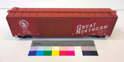 Model - Great Northern Railway Boxcar