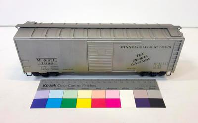 Model - Minneapolis and St. Louis Railway Boxcar