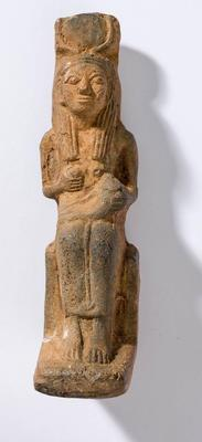 Figure, Egyptian, Isis and Horus; Early 20th Century CE; H14422