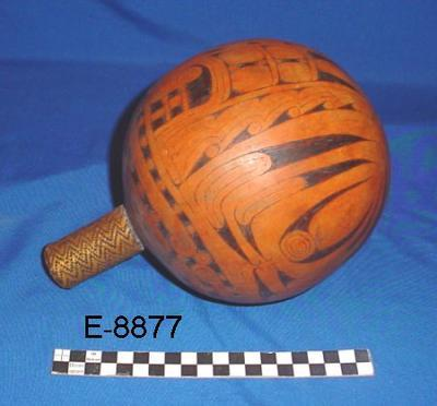 Lime container -  gourd