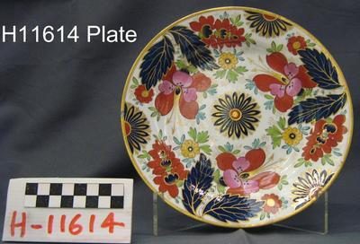 Plate; 1807-1840; H11614