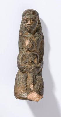 Figure, Egyptian, Isis and Horus