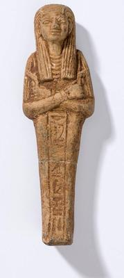 Figure, Egyptian, terracotta shabti