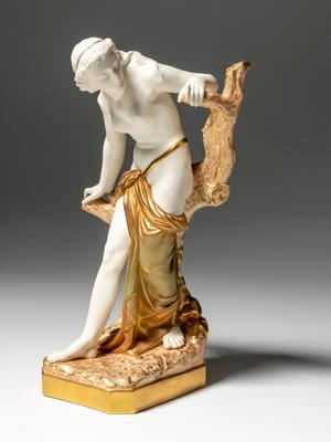 """Figure of Woman, """"Bather Surprised""""; H11656"""