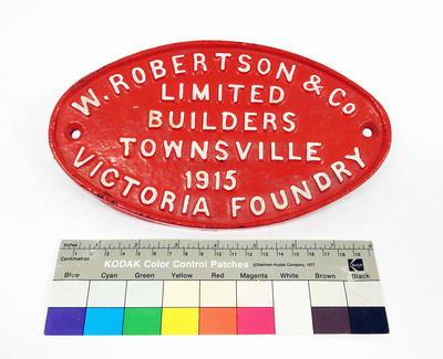 Builder's Plate - Wagon