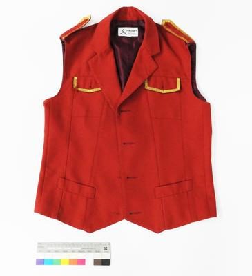 Great South Pacific Express - Vest (red)