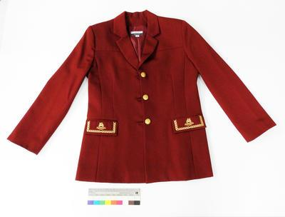 Great South Pacific Express - Blazer (maroon)