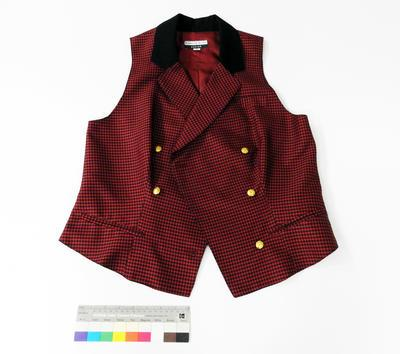 Great South Pacific Express - Vest (maroon)