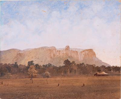 Photograph - Springsure, Central Queensland, about 1870