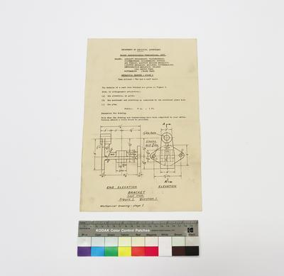 Annual Apprenticeship Examinations 1957 - Mechanical Drawing - Stage I