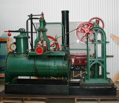 Steam Pumping Plant - Grandchester Engine; 1868; R814.1