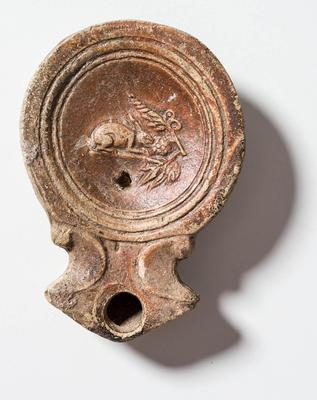 Collection item of E40227 CH classification ARCHAEOLOGY Roman lamp