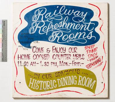 Sign - Railway Refreshment Room