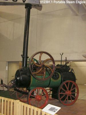Ransomes Sims & Jefferies Single Cylinder 6 N.H.P. Portable Steam Engine