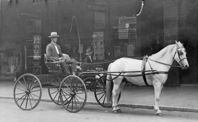 Photograph - Horse and Cart