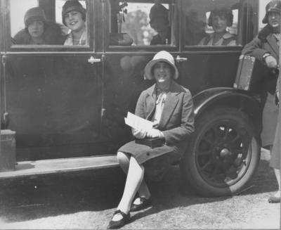 Photograph - Motor Car and Women's Fashion