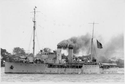 Photograph - French Ship, Brisbane