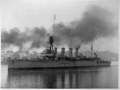Photograph - Warship, Brisbane River
