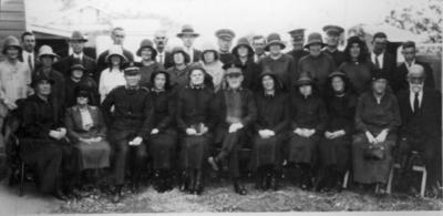 Photograph - Opening Salvation Army Hall