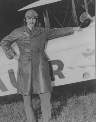 Photograph - Lester Brain at Brisbane Flying School