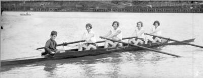 Photograph - Women's Rowing Four
