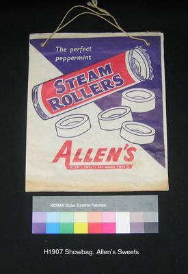 Sample bag - Allen's Steam Rollers and Fruit Tingles; H1624