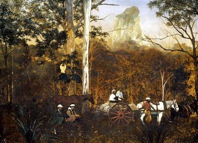 Photograph - Mount Coonowrin, Glasshouse Mountains