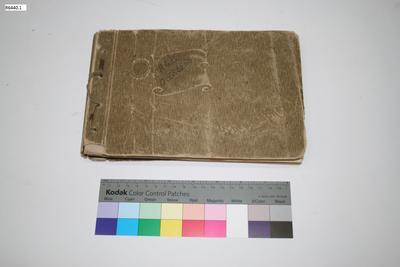 Photograph Album - Staff Sergeant-Major Arthur G Bennett