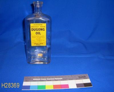 Bottle - Dugong Oil