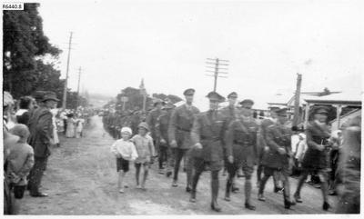 Photograph - Military Procession, Ipswich 1920; 04 May 1920; R6440.8