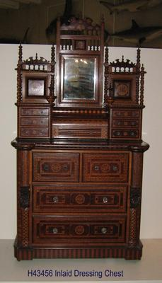 Inlaid Dressing Chest