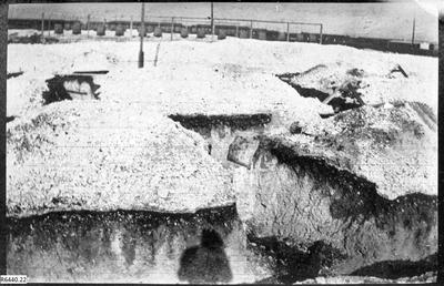 Photograph - Trenches; 18 Feb 1917; R6440.22