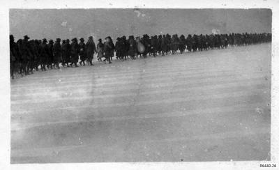 Photograph - Australian Soldiers Marching; R6440.26