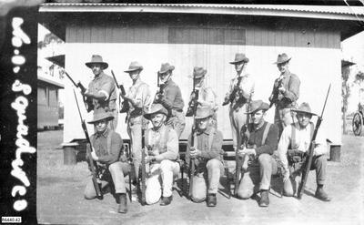 Photograph - Squad of Australian Soldiers; R6440.42