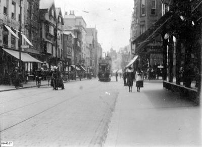 Photograph - High Street Exeter, looking south; R6440.57