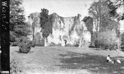 Photograph - Old Wardour Castle; 13 May 1917; R6440.67