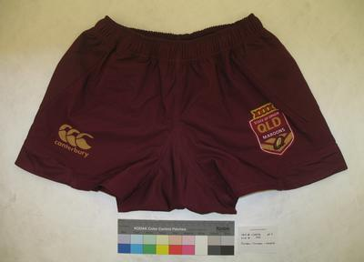 Qld Maroons State of Origin Uniform 2014