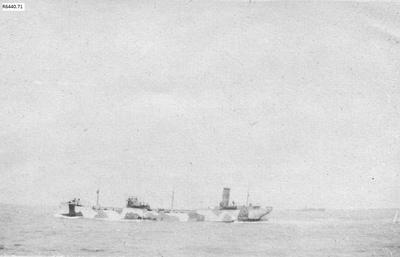 Photograph - Camouflaged Oil Tanker; 1917; R6440.71